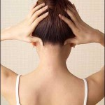 One acupressure point to relieve headache can be found at the base of the skull