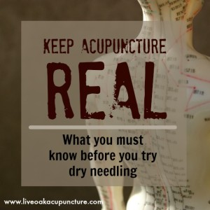 What you must know before you try dry needling