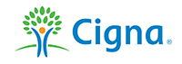 Insurance accepted--Cigna
